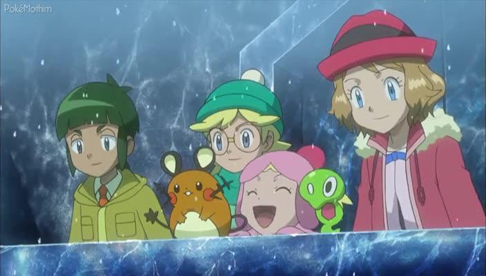 Pokemon Dublado Episódio - 924Chegamos ao Campo de Gelo!