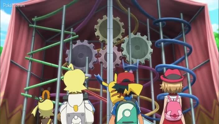 Pokemon Dublado Episódio - 928O Festival de Engenhoca!