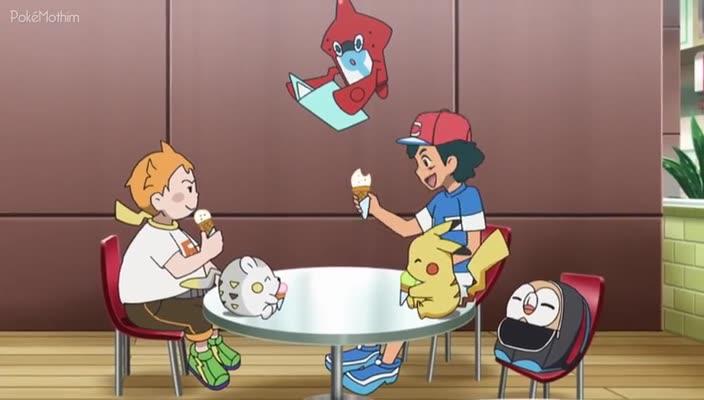 Pokemon Dublado Episódio - 951Ida Eletrizante ao Mercado!