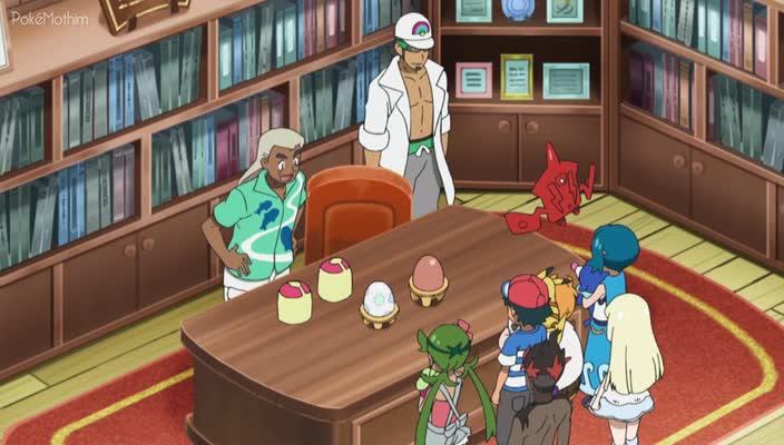 Pokemon Dublado Episódio - 953O Desafio Ovocionante da Lilian!