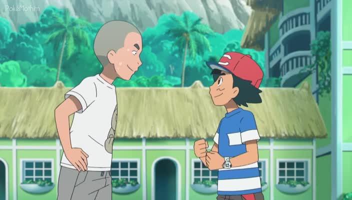 Pokemon Dublado Episódio - 964Uma Revanche Com o Guardião!
