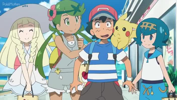 Pokemon Dublado Episódio - 965Promessas Parceiras!