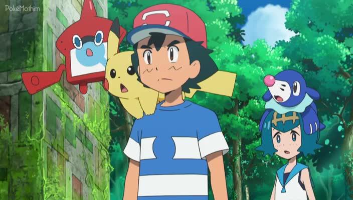 Pokemon Dublado Episódio - 981Provas e Determinações!