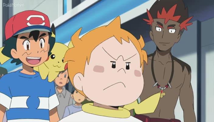 Pokemon Dublado Episódio - 986Uma Corrida Eletrizante!