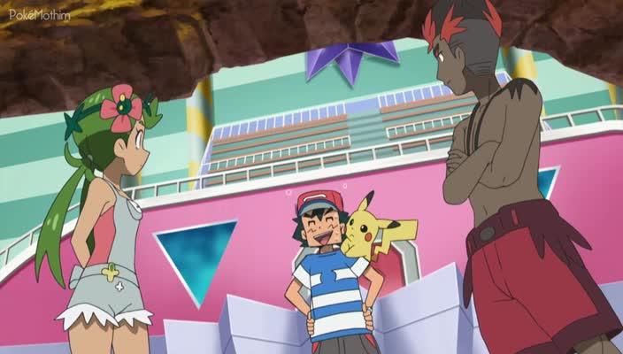 Pokemon Dublado Episódio - 988Quando Regiões se Enfrentam!