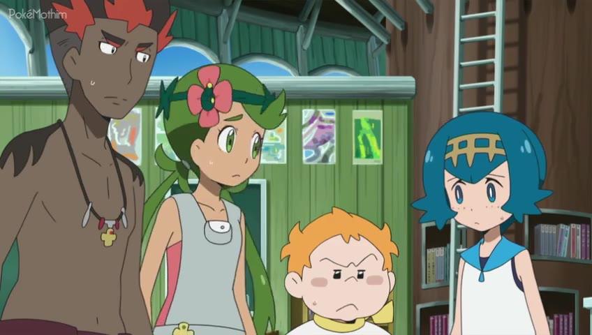 Pokemon Dublado Episódio - 996Determinação em Família!